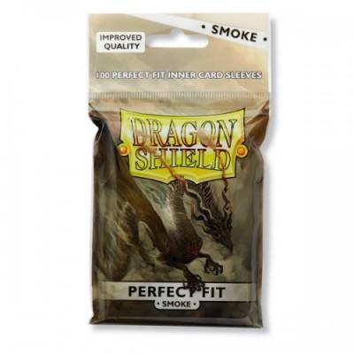 100 fundas dragon shield perfect fit smoke
