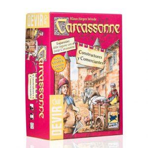 Carcassonne expansion constructores y comerciantes 1