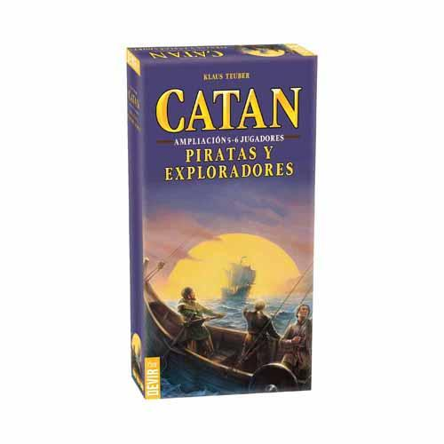 Catan Piratas y exploradores 5 6