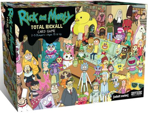 Rick and Morty Total Rickall cover