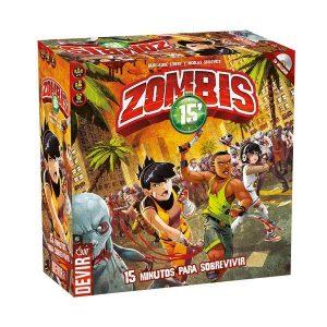 Zombies 15 caja