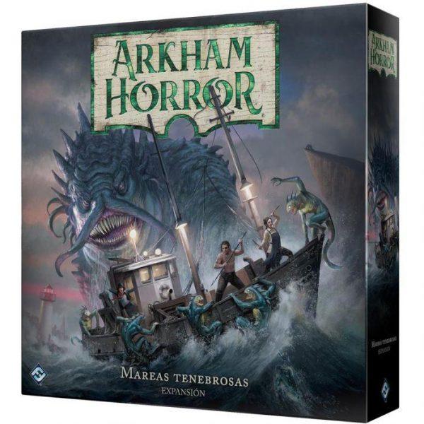 arkham horror mareas tenebrosas