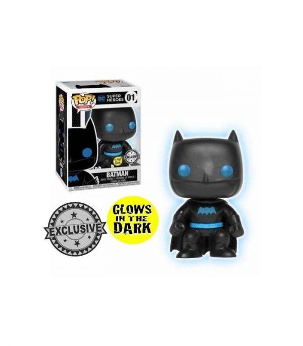 batman silhouette gitd