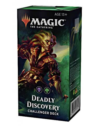 challenger deck 2019 deadly discovery magic the gathering magicsur chile