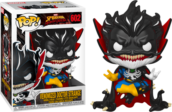 dr strange venomized funko pop marvel venom