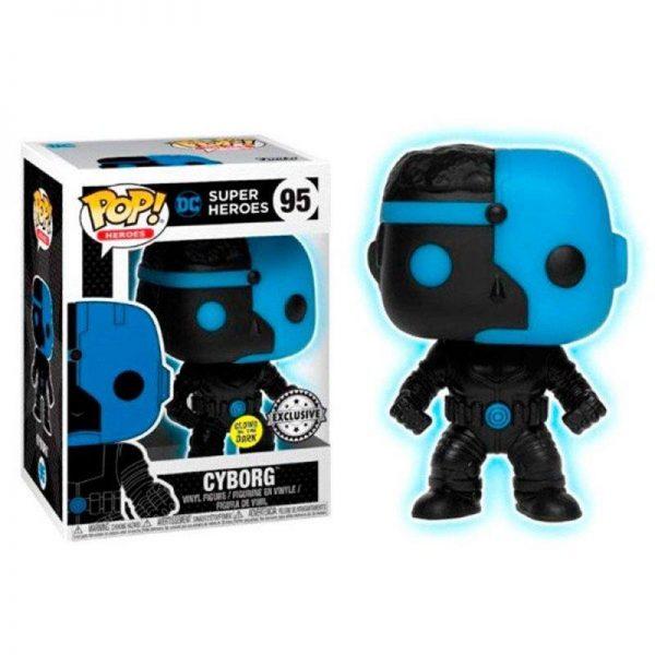 figura pop dc comics cyborg