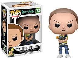 figura pop weaponized morty