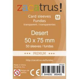 fundas protectoras zacatrus desert premium tamano 50 x 75 mm 100und