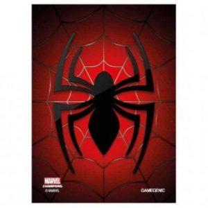 fundas spiderman marvel champions 66x91mm 50