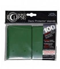fundas ultra pro matte eclipse standard 100 66x91 Verde