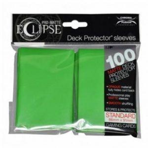 fundas ultra pro matte eclipse standard 100 66x91 verde lima