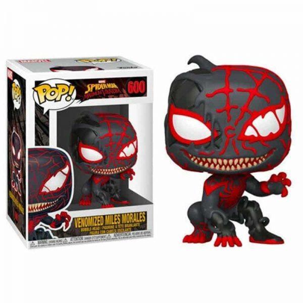 funko pop marvel spiderman maximum venom 600 venomized miles morales