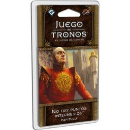 juego de tronos lcg no hay puntos intermedios