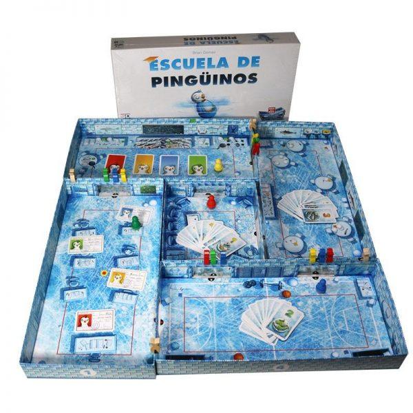 juego escuela de pinguinos