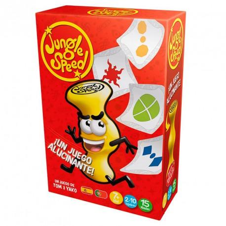 jungle speed big box juego de cartas y totem de atencion para 2 10 jugadores