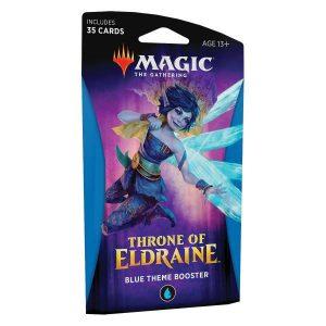 magic sobre tematico azul el trono de eldraine ingls