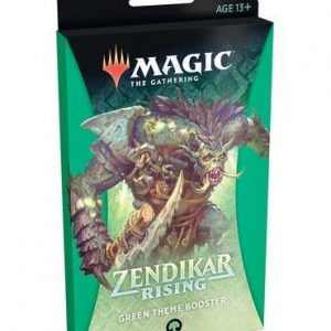 magic the gathering zendikar rising green theme booster ingles