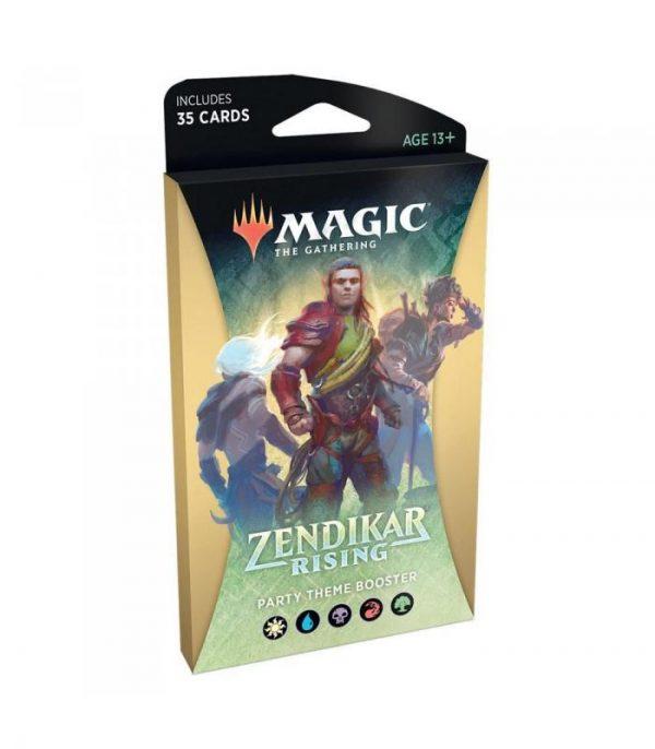 magic the gathering zendikar rising party theme booster ingles