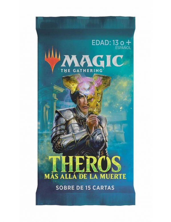 magic theros mas alla de la muerte sobre de 15 cartas
