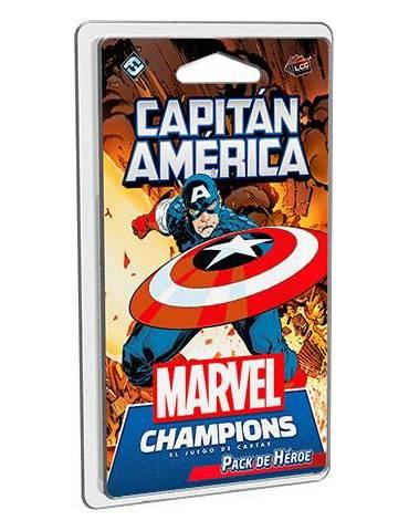 marvel champions capitan america castellano
