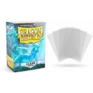 matte clear 100 sleeves dragon shield standard sleeves 1024x1024 2x f241257c 6e7f 42c1 9c8b b449c3b81241