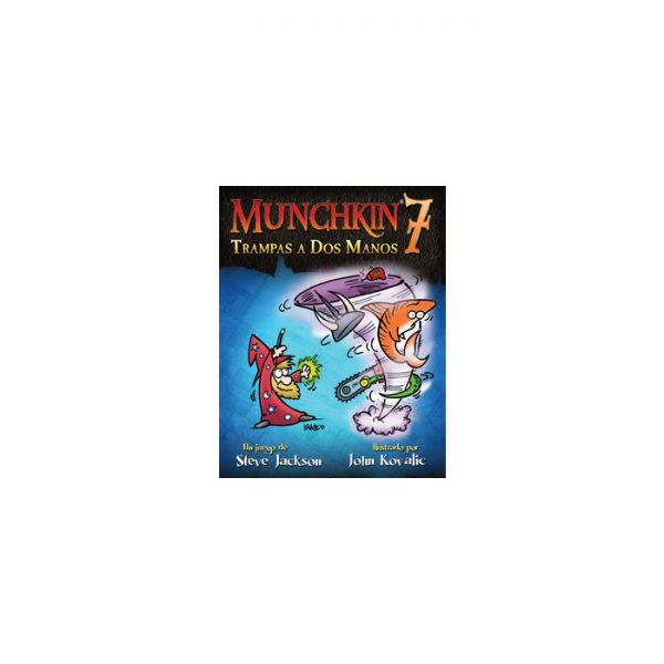 munchkin 7 trampas a dos manos