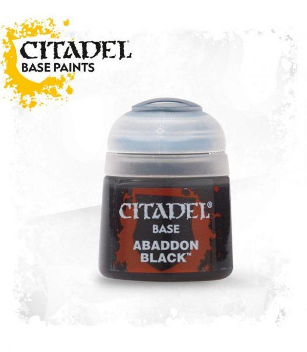 pintura citadel base abaddon black