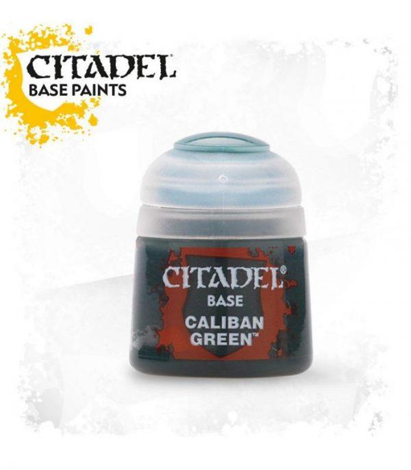 pintura citadel base caliban green