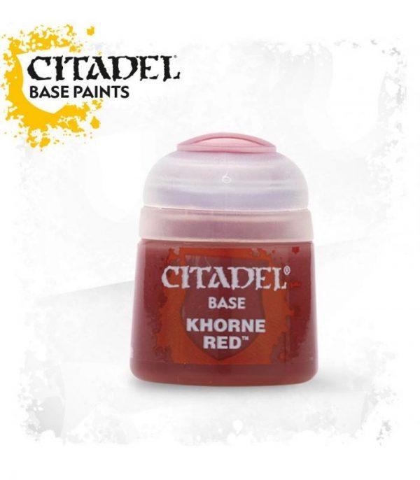 pintura citadel base khorne red