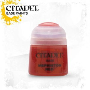 pintura citadel base mephiston red