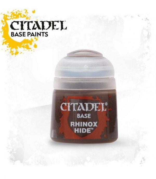 pintura citadel base rhinox hide