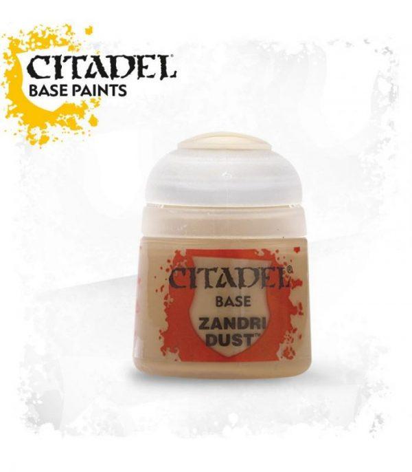 pintura citadel base zandri dust