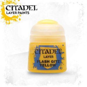 pintura citadel layer flash gitz yellow