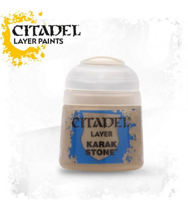 pintura citadel layer karak stone