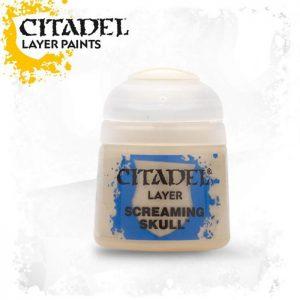 pintura citadel layer screaming skull