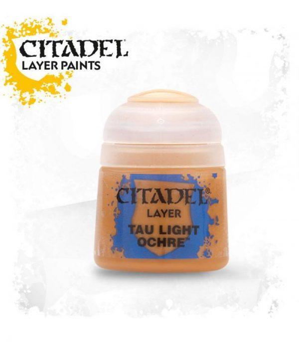 pintura citadel layer tau light ochre