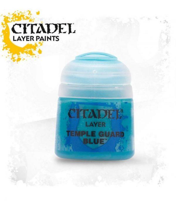 pintura citadel layer temple guard blue