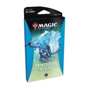 pre venta magic the gathering theme booster zendikar rising blue english