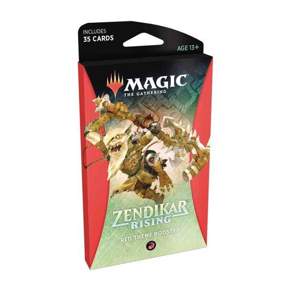 pre venta magic the gathering theme booster zendikar rising red english