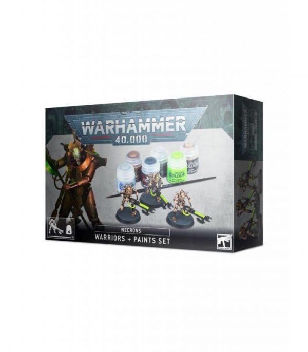 preventa 1508 warhammer 40000 necrons paints set