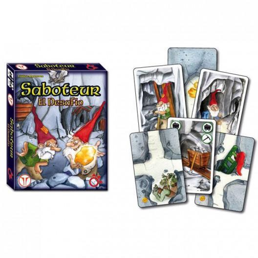 saboteur el desafio juego de estrategia con cartas para 2 jugadores