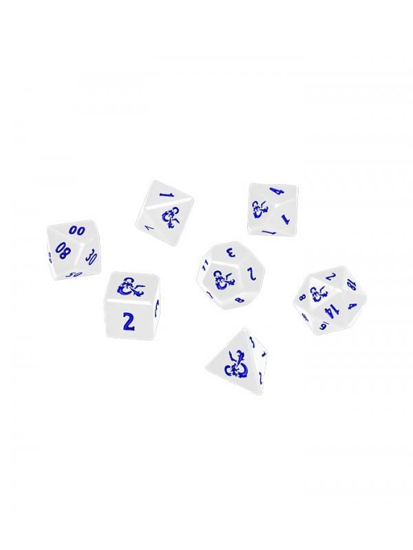 set de 7 dados dungeons dragons heavy metal icewind dale 7 rpg dice set