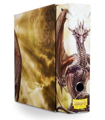 slipcase binder dragon shield album blanco