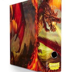 slipcase binder dragon shield album rojo