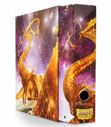 slipcase binder glist dragon shield color oro