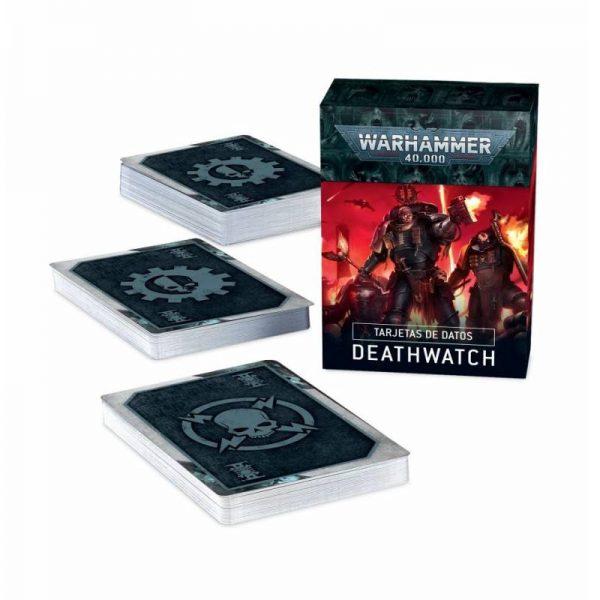 tarjetas de datos deathwatch