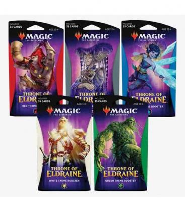 theme booster display throne of eldraine ingles cartas magic the gathering