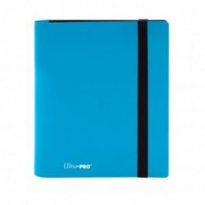 ultra pro 4 pocket pro binder eclipse sky blue