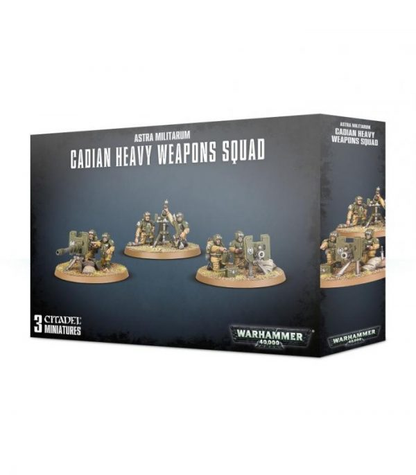 warhammer 40000 astra militarum cadian heavy weapons squad