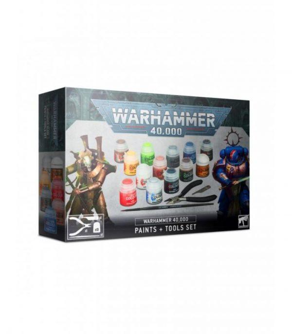 warhammer 40000 paints tool set